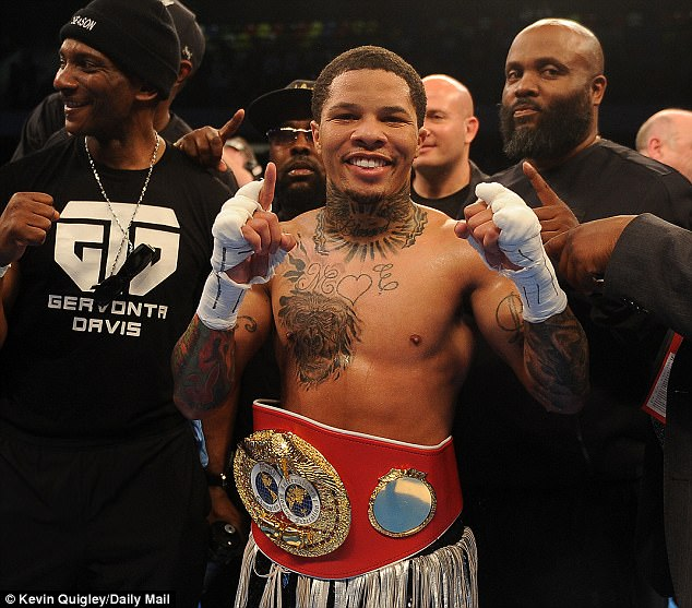 The 22-year-old tipped the scales 2lbs over the 130lb limit for his fight with Francisco Fonseca