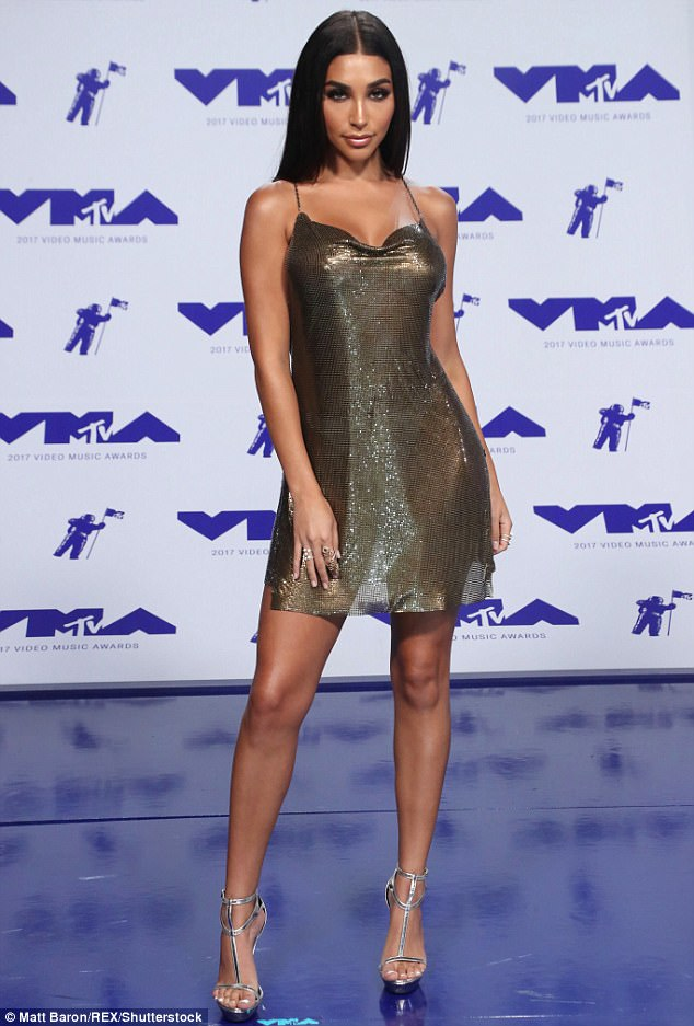 VMAs 2017 Chantel Jeffries Channels Kim Kardashian