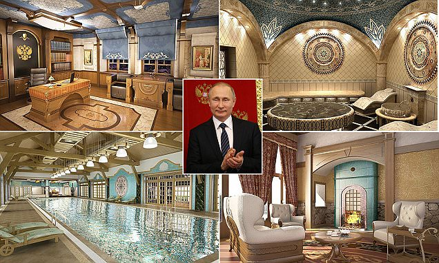 Inside Vladimir Putins New Russian Holiday Home Daily
