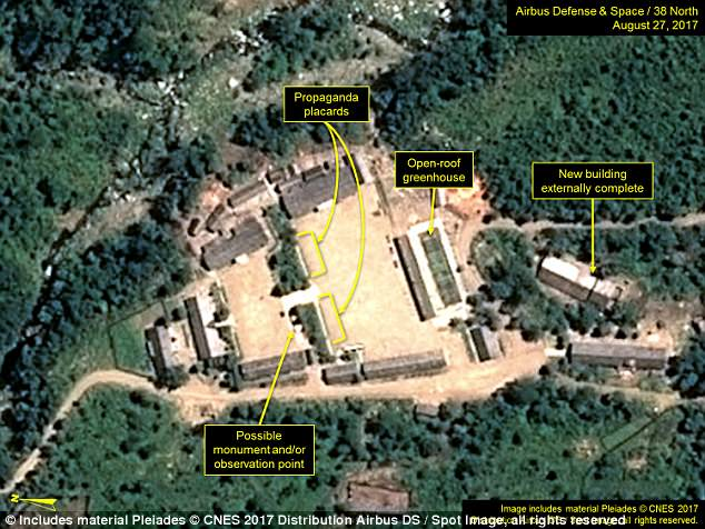 The facility in north eastern North Korea remains on 'standby', according to experts