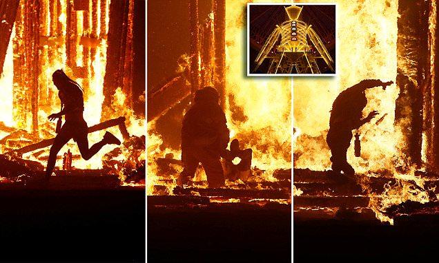 Man Who Ran Into Flames At Burning Man Festival Has Died