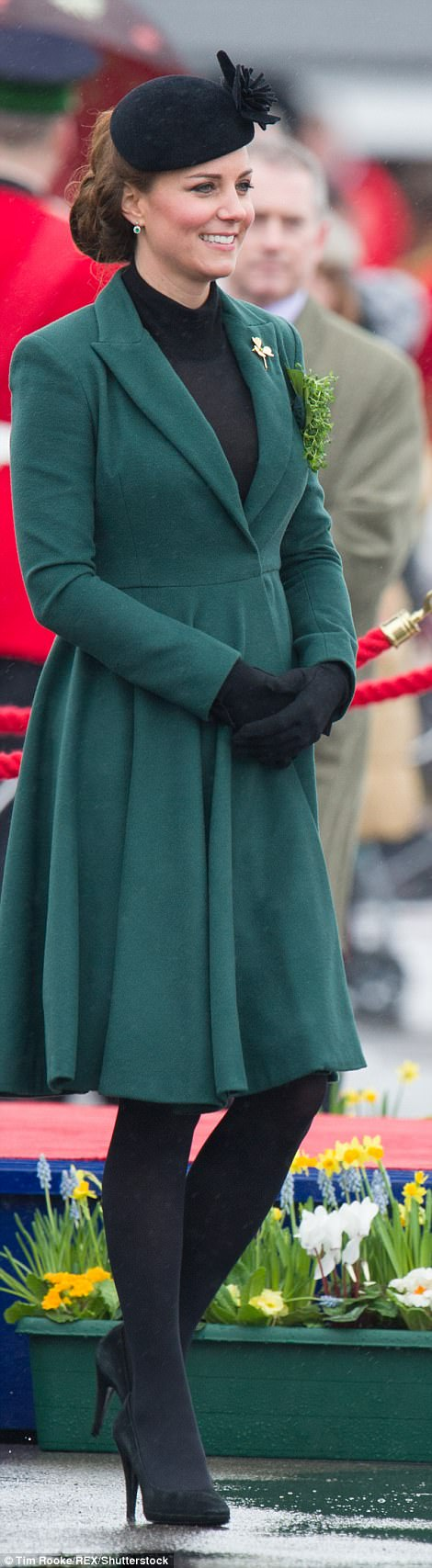 March: An Emilia Wickstead coat for St Patrick's Day