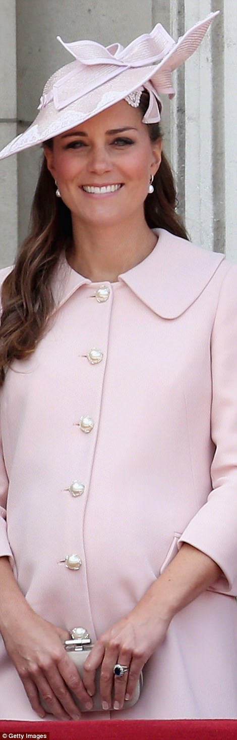 June: In the pink and elegant for Trooping the Colour