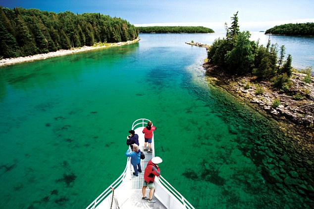 Head into the pristine protected wilderness of Georgian Bay Island National Park, the world¿s largest freshwater archipelago