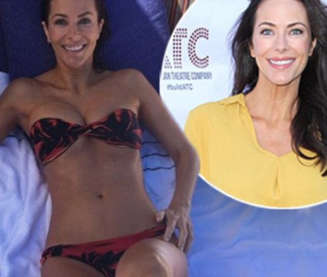Home And Away Esther Anderson Wears Tiny Bikini In Hawaii Daily Mail Online