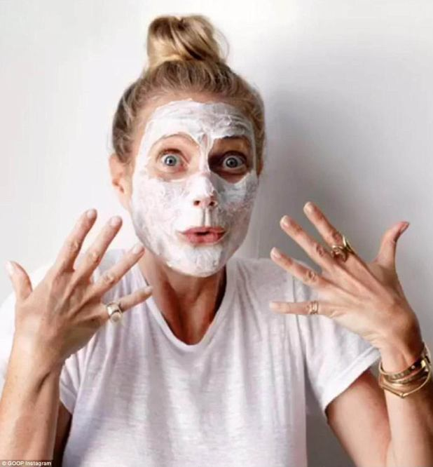 All her own work:Often mocked, Gwyneth's unashamedly aspirational lifestyle blog has been turned into a real-life magazine by Vogue's publisher, media company Conde Naste (file image from online magazine)
