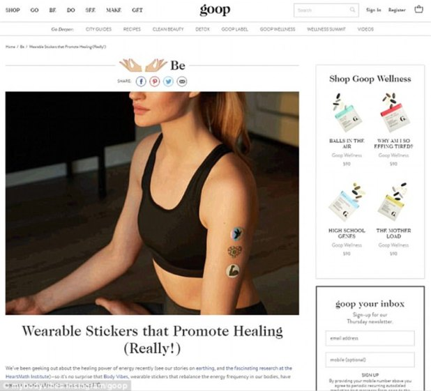 Alternative: The magazine is aimed at women hoping to improve their health and well being