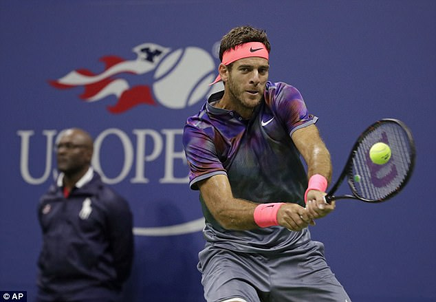 Nadal soaked up the early assault from Del Potro before completely turning the match around
