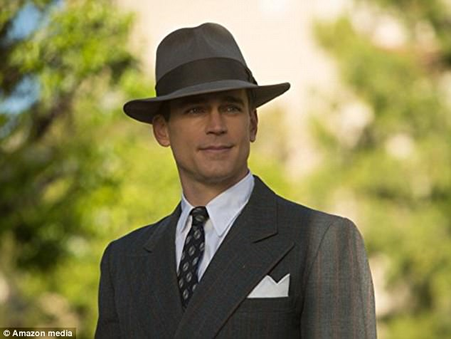 Then and now: Bomer said that the program pointed out differences in the handling of studio stars amid the 1930s