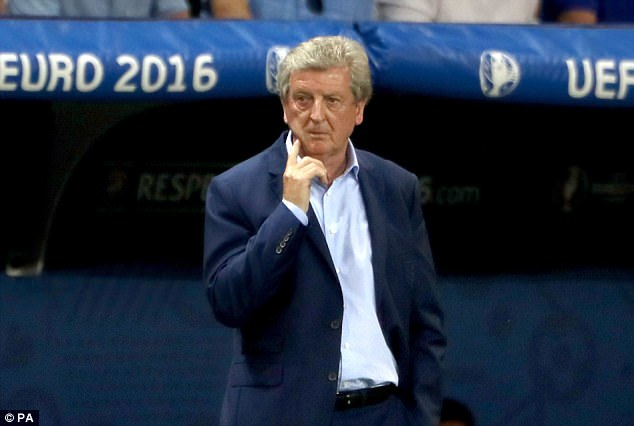 Hodgson has been out of work since England's disastrous Euro 2016 campaign