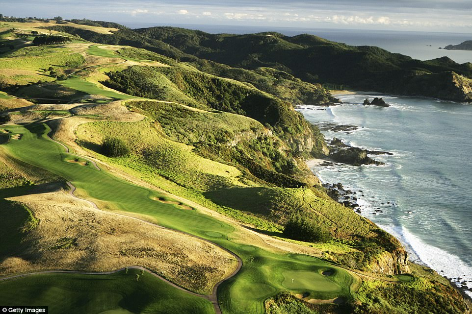 Set amid 6,000 acres of sprawling hills near Matauri Bay - a four hour drive from Auckland - Kauri Cliffs boasts jaw-dropping vistas of the ocean beyond.