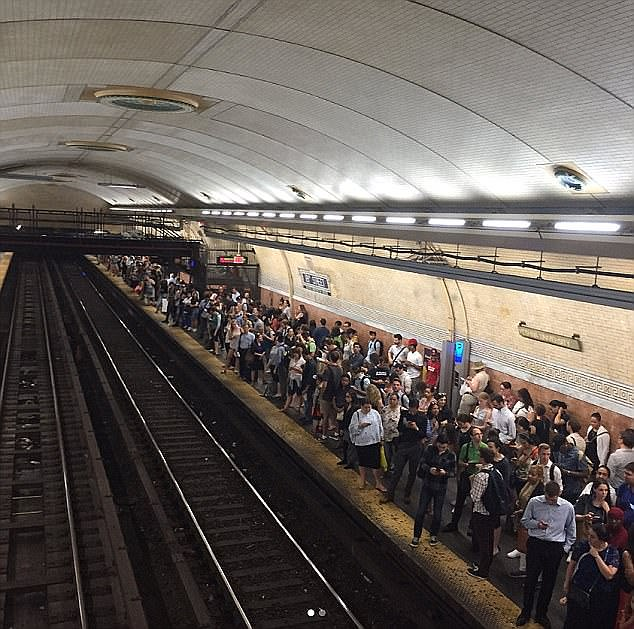 NYC's delay-plagued subway system has become so disastrous in the summer of 2017 that the governor declared an official 'state of emergency.' If the subway - which services 1.7 billion rides annually - only followed quantum math, however, the trains wouldn't be so delayed