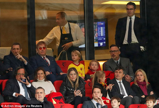 Guardiola Meets Sir Elton Ahead Of Watford Vs Man City