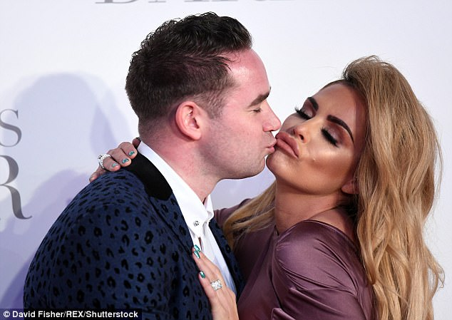 Coy:She would only say: 'I'm not talking about that.' Katie also revealed that Kieran was back in therapy for sex addiction, saying: 'Kieran has an addiction and he has gone back to therapy, I'll tell you that.'