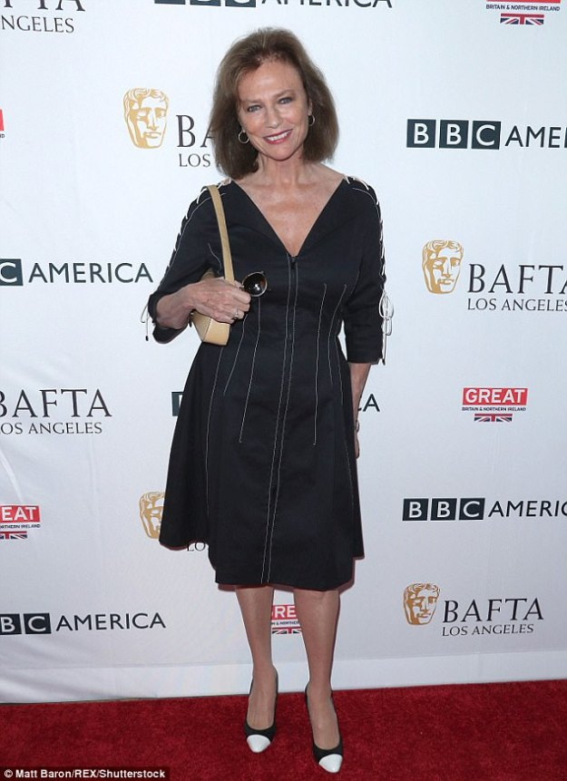 Sexy septuagenarian! Acting veteran Jacqueline Bisset looked lovely at the BAFTA Los Angeles and BBC America's annual tea party in Beverly Hills on Saturday