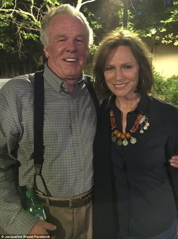 Premieres October 22 on Epix! On June 15, Bisset reunited with Nick Nolte in New Mexico to play his character's ex-wife Diana Scott in the 10-episode second season of Graves
