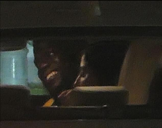 Risky business? Hart was snapped in July in a Lexus with a woman local media identified as singerMonique 'Momo' Gonzalez