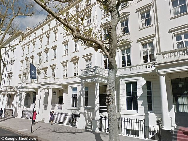 Queen's Gate school in south Kensington, London, whose headmistress is accused of covering up during an investigation into exam cheating