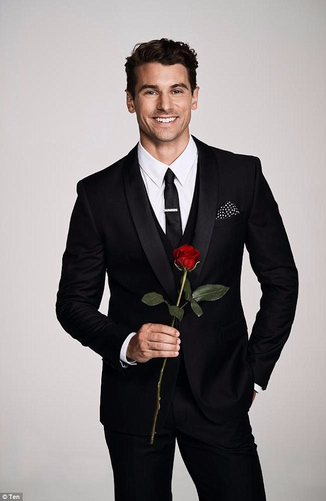 Slick: The  Bachelor star always looked his best while appearing on the television reality series