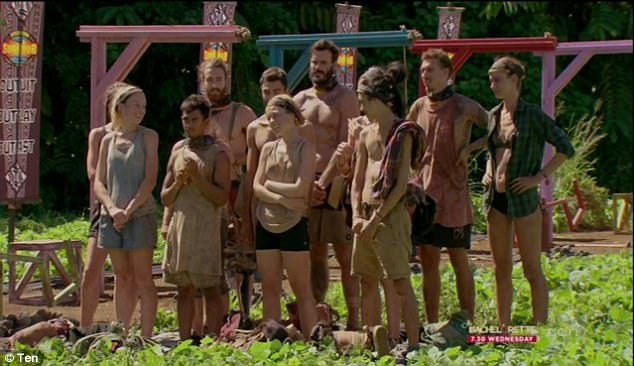 Finally!After 35 days stranded in Samoa, the Samatau and Asaga tribes finally merged on Sunday's episode of Australian Survivor