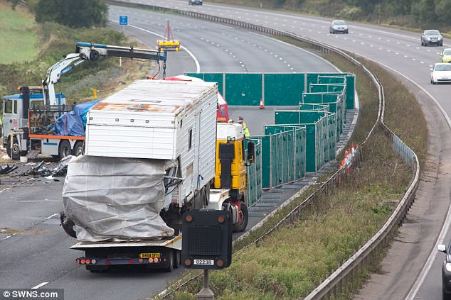 Police said the motorway would remain closed in both directions overnight between junctions 16 and 14 as specialist officers worked through the night. The closure will be reviewed on Sunday morning.