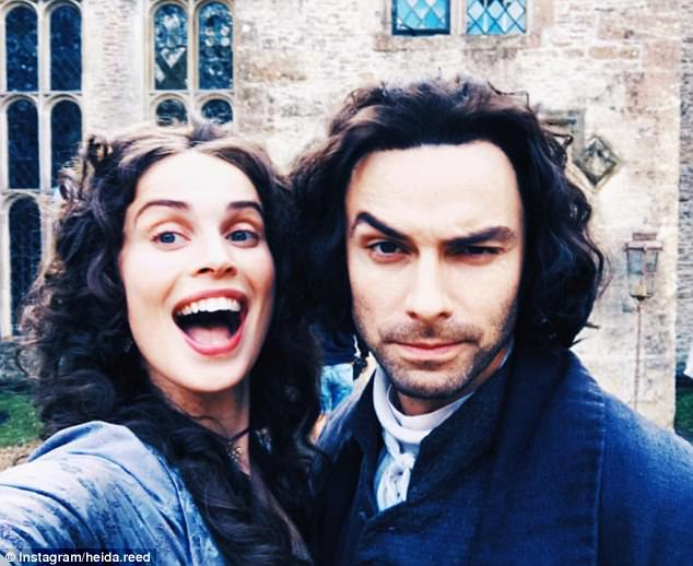 It's back!Cast members have been tantalising fans with pics from the set, including this cheery Instagram snap shared by Icelandic actress Heida Reed posing with Aidan