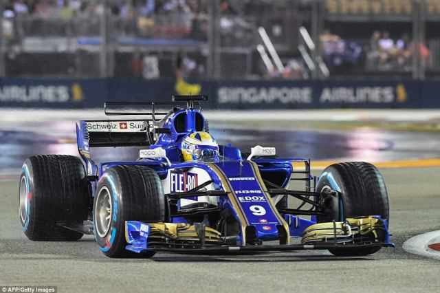 But Sauber driver Marcus Ericsson was shown a yellow flag on lap 38 after spinning out on the entry to Anderson Bridge