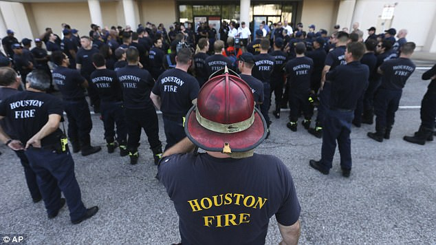 Questions are emerging about the decision to tell nearly 3,000 firefighters in Houston to stay home as Hurricane Harvey battered the city