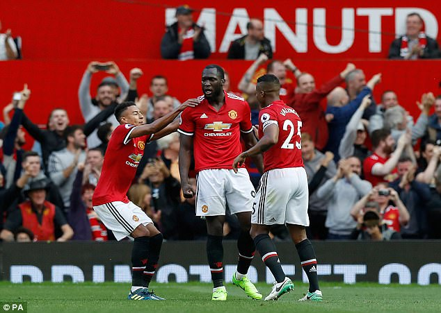 United scored three goals in the last ten minutes to secure all three points in front of their fans