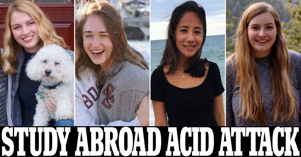 Four American tourists suffer acid attack in Marseille