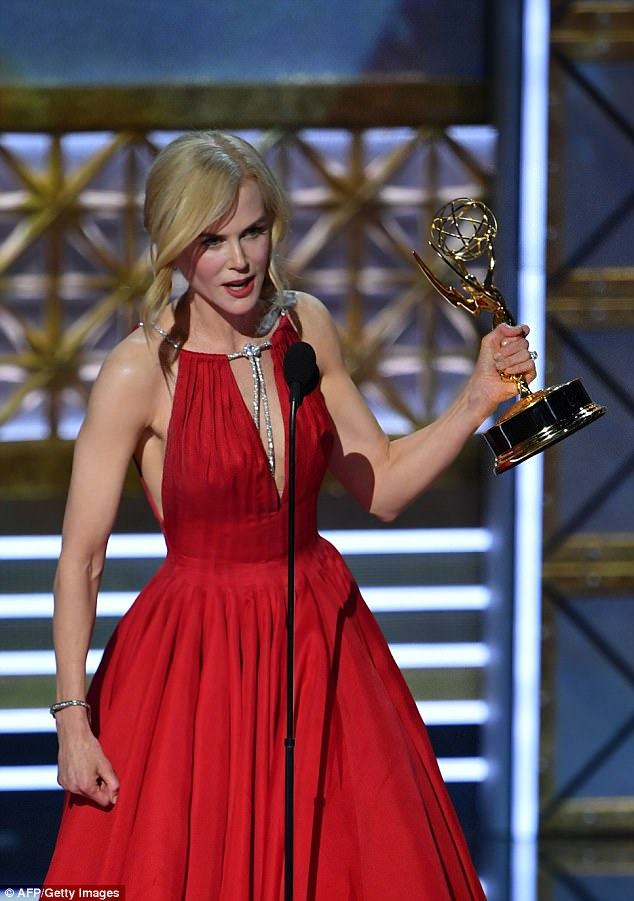 'It is a complicated, insidious disease': Nicole Kidman discusses the ¿shame and secrecy¿ of domestic violence in powerful Emmys acceptance speech for Big Little Lies