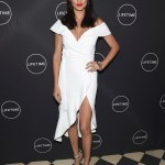 A Vision In White! Adriana Lima Sizzle In NYC