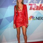 Hell For Leather: Heidi Klum Red Hot Style At The AGT Finale In LA