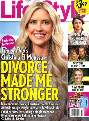She landed the cover! The 34-year-old reality star gave the weekly a long interview