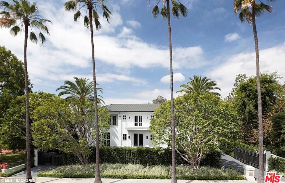 The six-bedroom, 10-bathroom property is situated next to the popular Beverly Hills Hotel and covers15,096 square-feet