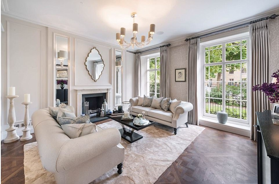 WAG Adds Millions To The Value Of Knightsbridge Townhouse