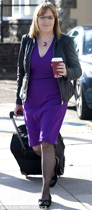 Maggie Siviter, 56, pictured, former head of safeguarding for North Somerset council, told a tribunal that boys and girls were plied with drugs at seedy premises in Weston-super-Mare