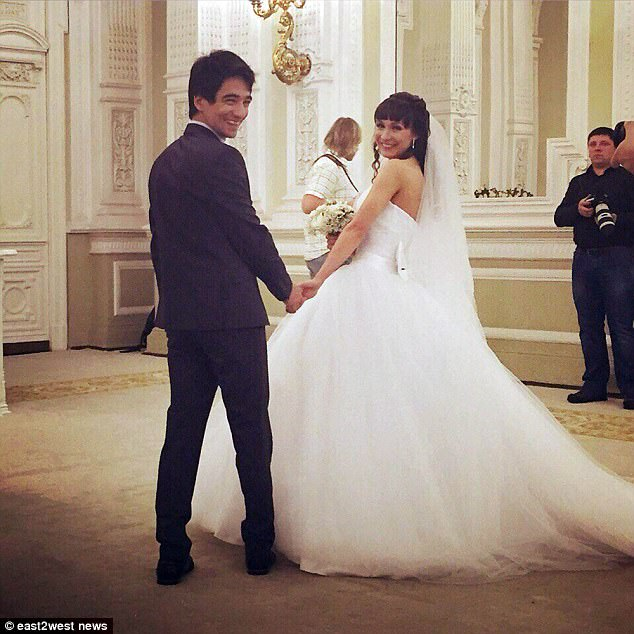 Heartbreak: The couple broke up earlier this year after Ekaterina obtained a divorce on the grounds of domestic violence