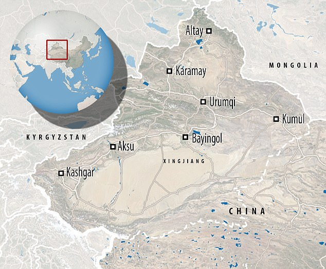 China's Xinjiang province is far west  and Kashgar is the biggest city west of China