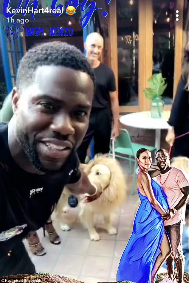 Papa fier: Kevin a documenté la fête de naissance dans son histoire sur Snapchat