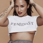 Demi Lovato Shows Off Under Boob For Notion Magazine