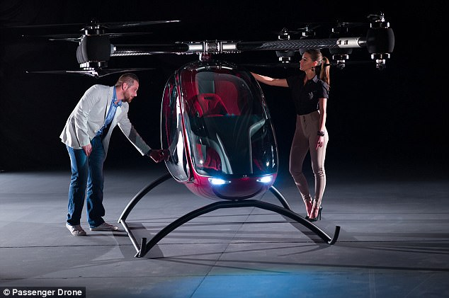 Its engine system is less complex than most quad-copters, which the firm says provides enhanced safety, performance, greater payload and range.They also claim it produces less noise than other models already available on the marketplace