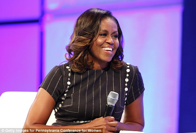 Surprise! On their anniversary in 2017, Michelle was speaking at the Pennsylvania Conference for Women when a surprise message from her husband played on the giant screens