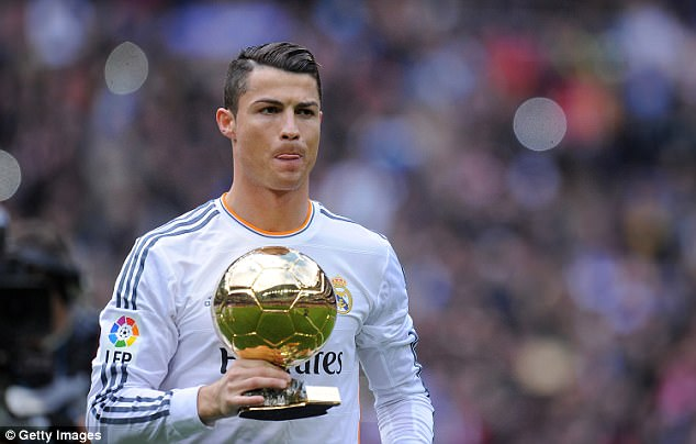 Cristiano Ronaldo SELLS Ballon DOr Trophy For 600000 Daily Mail Online