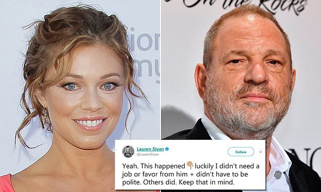 TV anchor says Weinstein masturbated in front of her