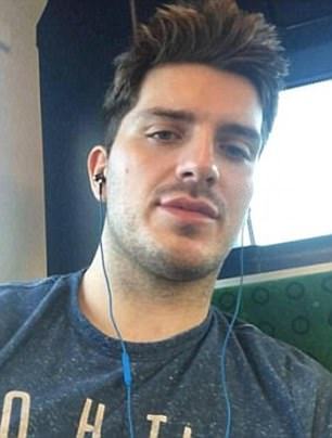 Rowe (pictured), who is originally from Edinburgh, is charged with infecting four men with the virus and of attempting to infect a further six between October 2015 and December 2016