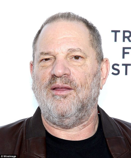Controversy: Weinstein was fired on Sunday from his own film studio, three days after a bombshell New York Times report alleged that the Oscar-winning producer had preyed on young women hoping to break into the film industry