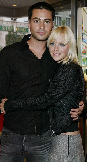 Anna Faris and her first husband Ben Indra. Their marriage lasted two and a half years