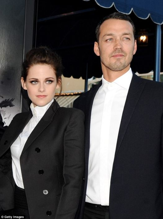 Shared a kiss:In July of 2012, photos surfaced showing Kristen and her Snow White and the Huntsman director, Rupert Sanders, 44, getting a little too close and personal