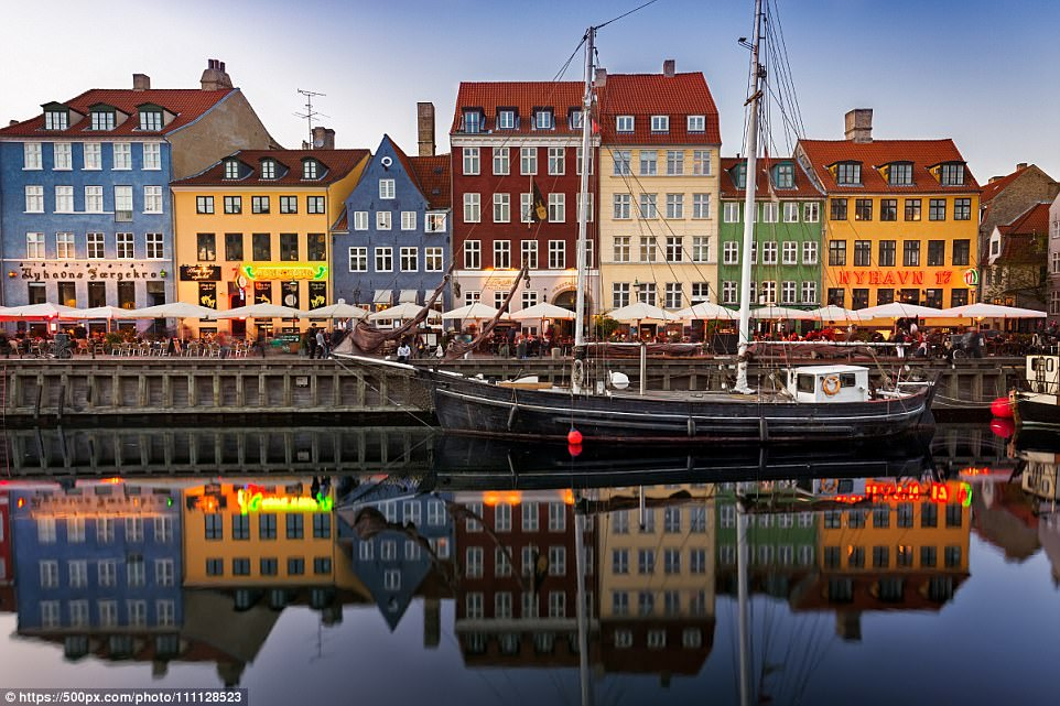 Get in lane: According to Lonely Planet, you can't find a better place for your next bicycle adventure than Copenhagen